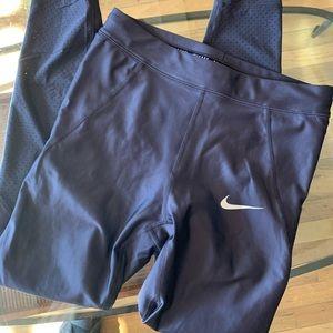 Women's Nike running leggings purple size small